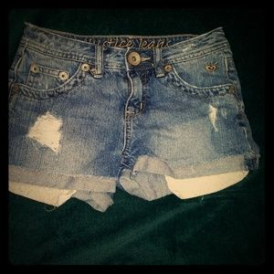 Girls Justice Jean Shorts
